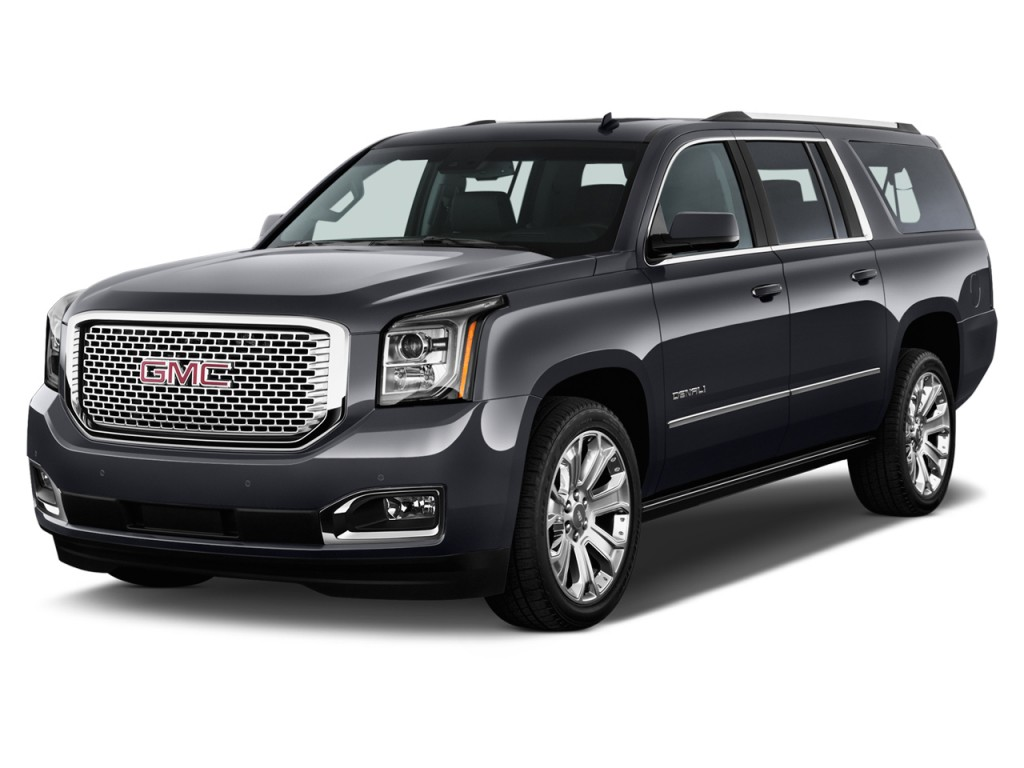 image 2015 gmc yukon xl 2wd 4 door denali angular front exterior view size 1024 x 768 type. Black Bedroom Furniture Sets. Home Design Ideas