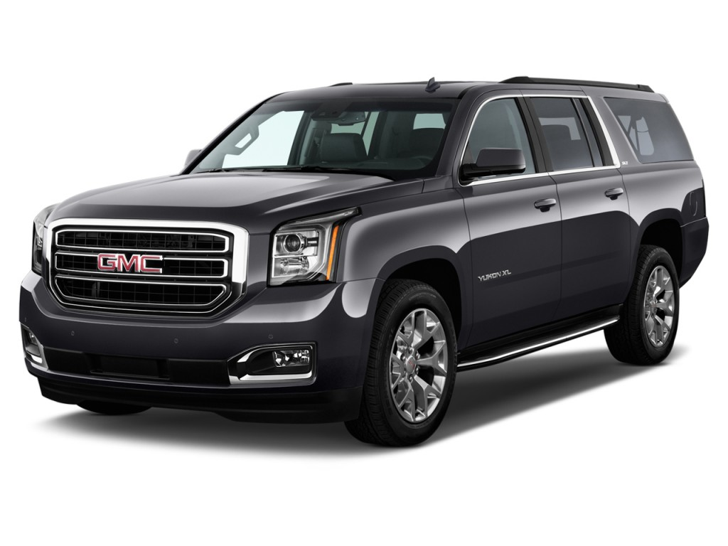 2015 gmc yukon xl 2wd 4 door slt angular front exterior view. Black Bedroom Furniture Sets. Home Design Ideas