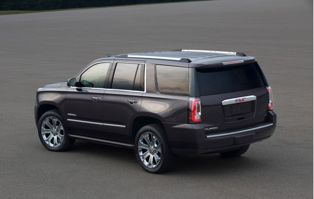 2015 gmc yukon pictures photos gallery motorauthority. Black Bedroom Furniture Sets. Home Design Ideas