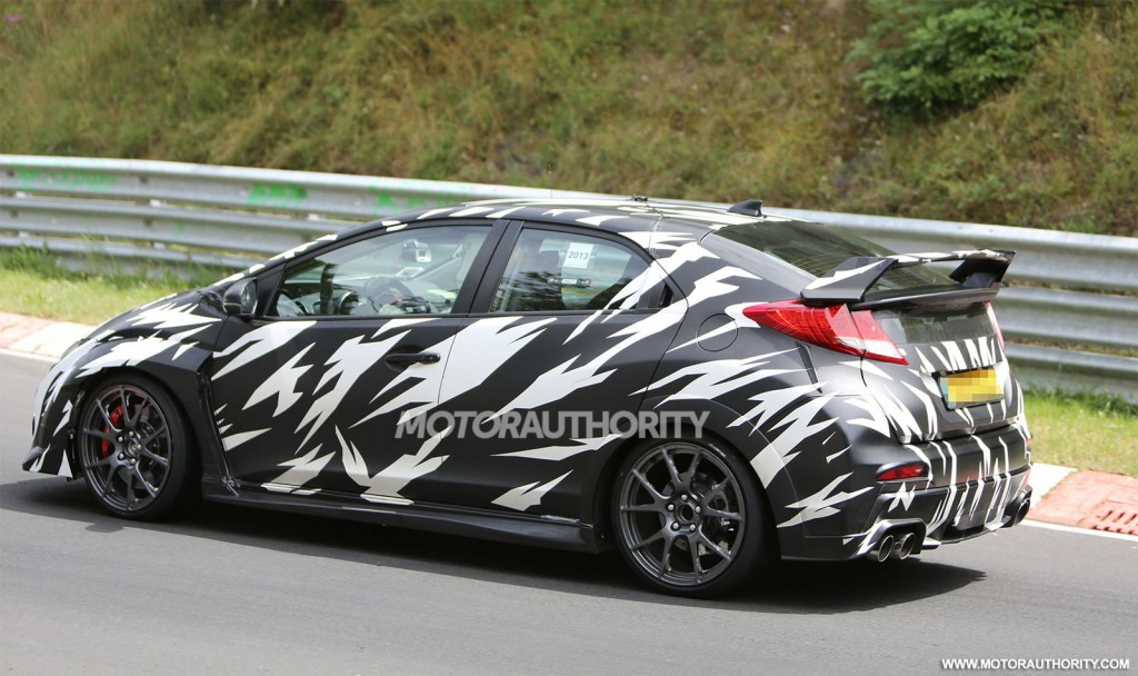 2015 Honda Civic Type R spy shots