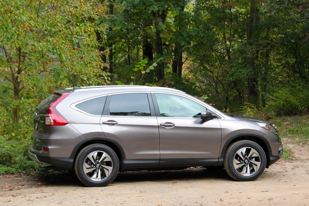 gas mileage for honda crv
