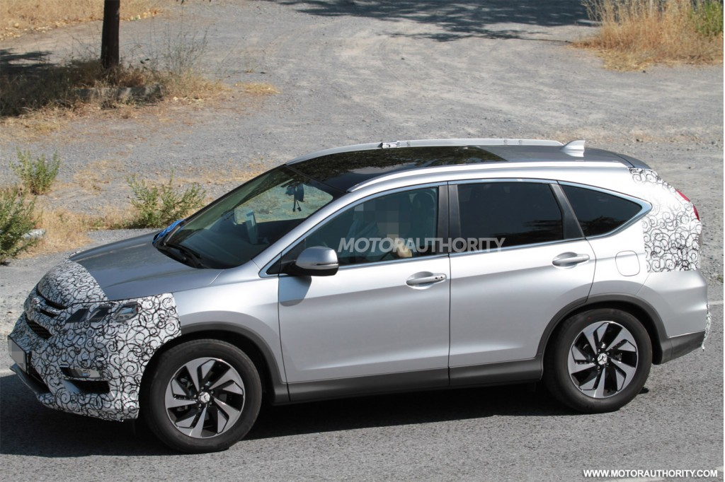 2015 Honda Cr V Spy Shots | 2017 - 2018 Best Cars Reviews