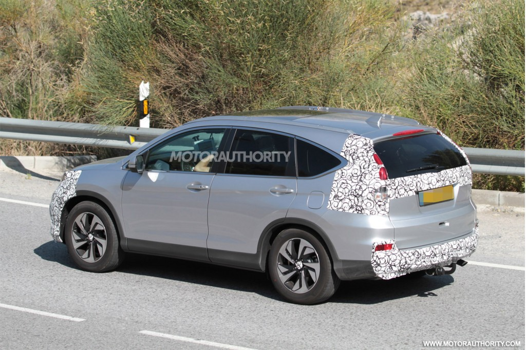 2015 Honda CR-V Spy