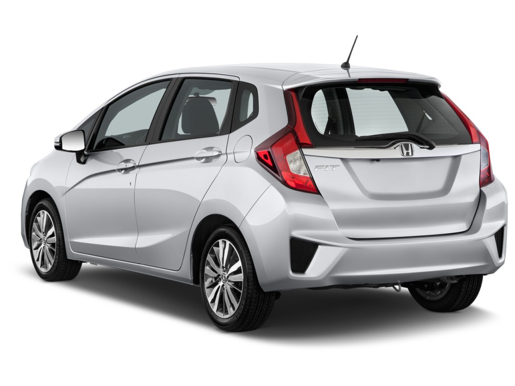 2015 honda fit 5dr hb cvt lx angular rear exterior view. Black Bedroom Furniture Sets. Home Design Ideas