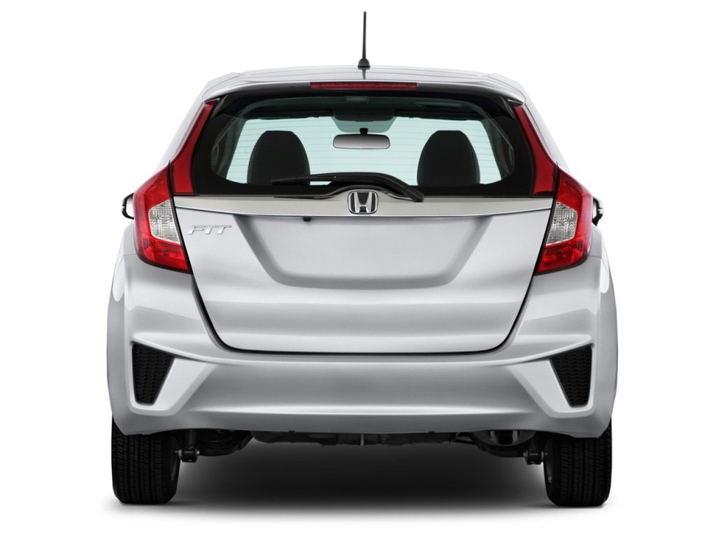 image 2015 honda fit 5dr hb cvt lx rear exterior view size 1024 x 768 type gif posted on. Black Bedroom Furniture Sets. Home Design Ideas