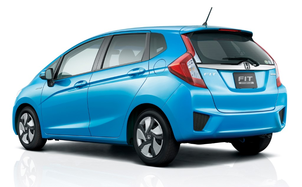 all new honda fit on sale today in japan including fit