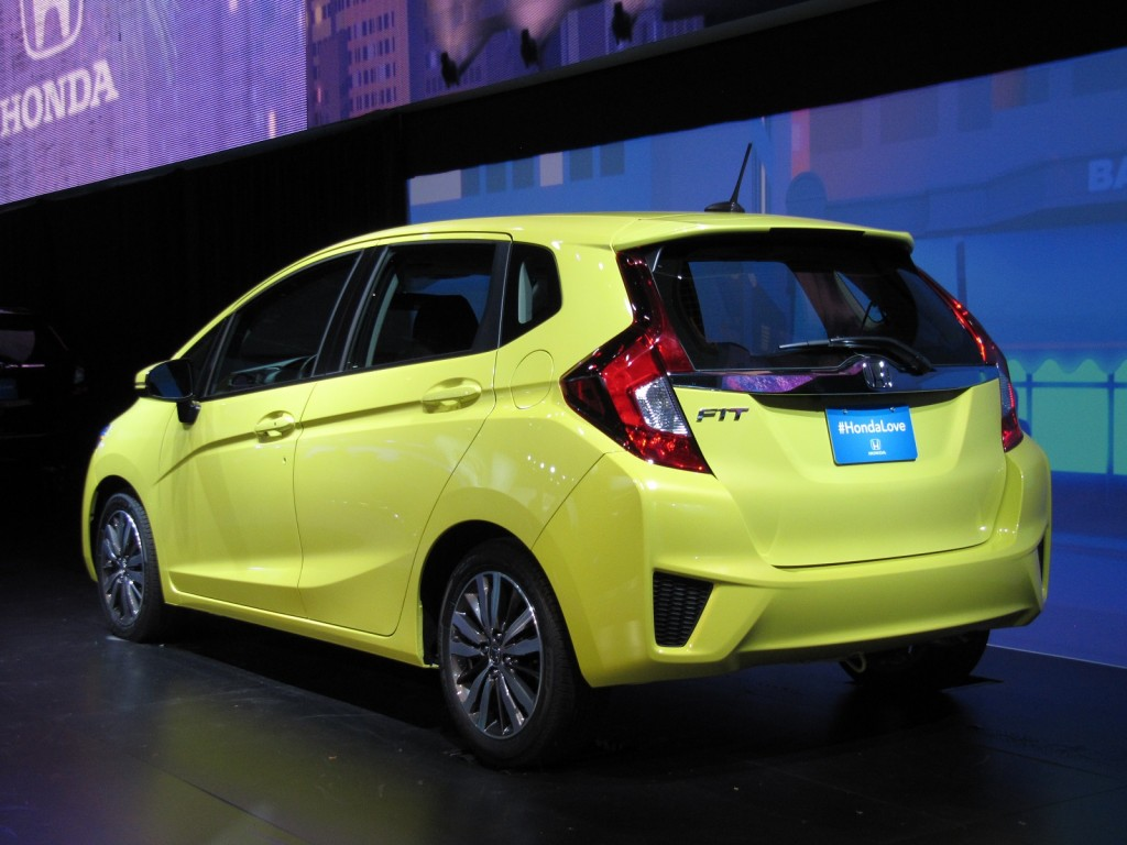 2015 honda fit full details from 2014 detroit auto show. Black Bedroom Furniture Sets. Home Design Ideas