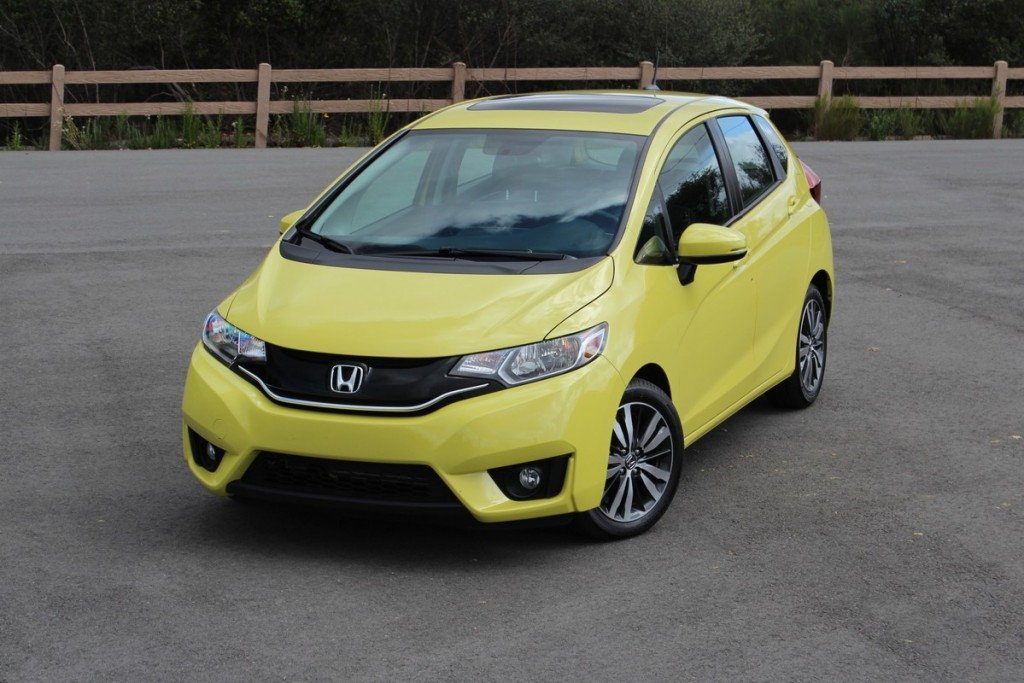 2015 honda fit video road test. Black Bedroom Furniture Sets. Home Design Ideas