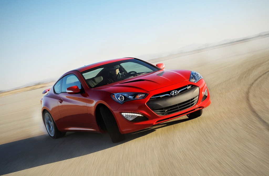 2015 Hyundai Genesis Coupe Drops Four-Cylinder, Gets $27,645 Starting ...
