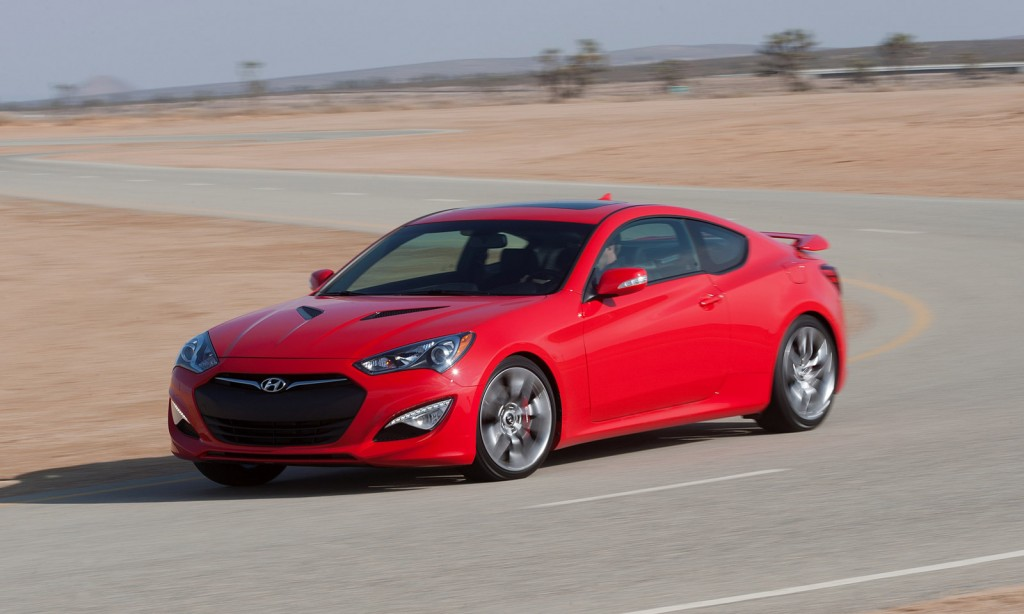 2015 hyundai genesis coupe drops four cylinder gets 27 645 starting price - Hyundai genesis coupe motor ...