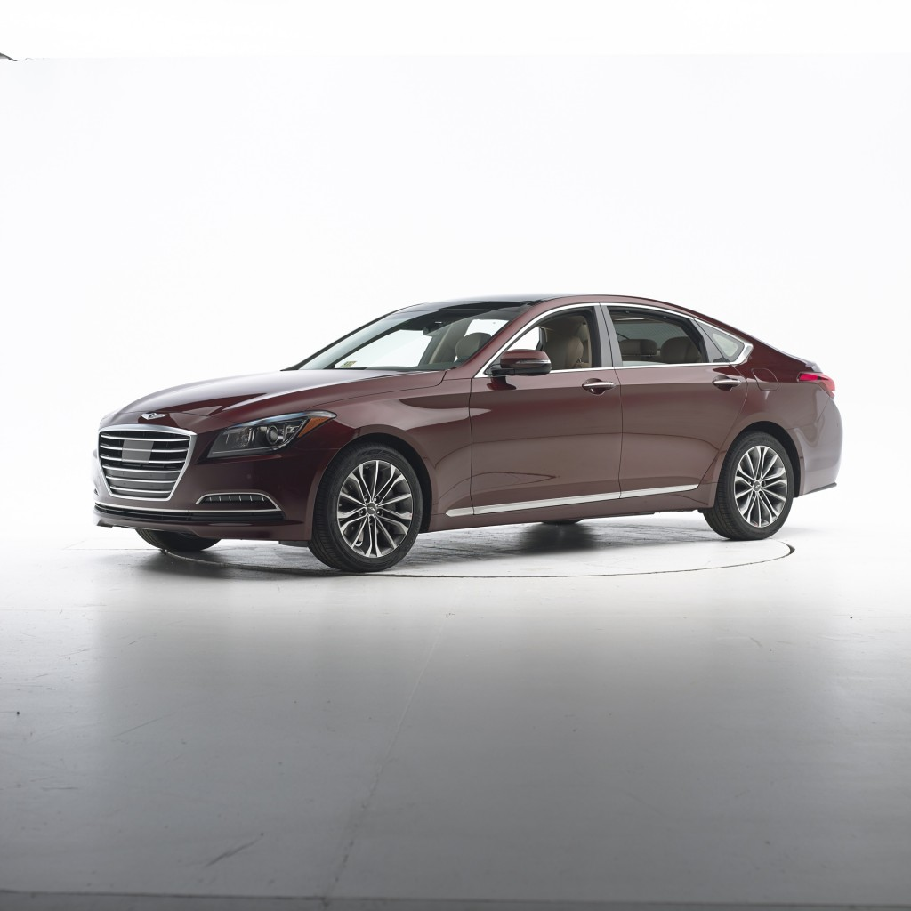 2015 hyundai genesis is a top safety pick. Black Bedroom Furniture Sets. Home Design Ideas