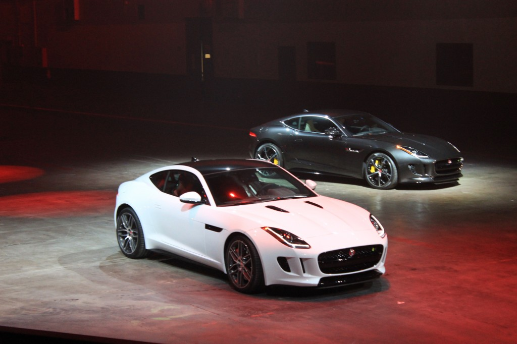 2015 jaguar f type coupe preview and live photos 2013 l a auto show. Cars Review. Best American Auto & Cars Review
