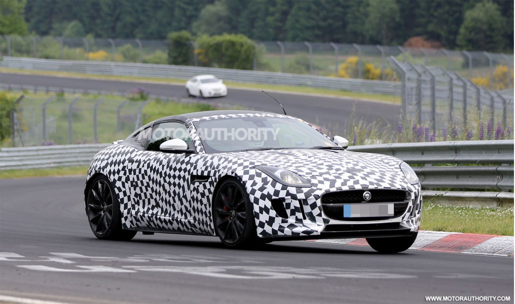 2015 Jaguar F Type Coupe Spy Photos Spot