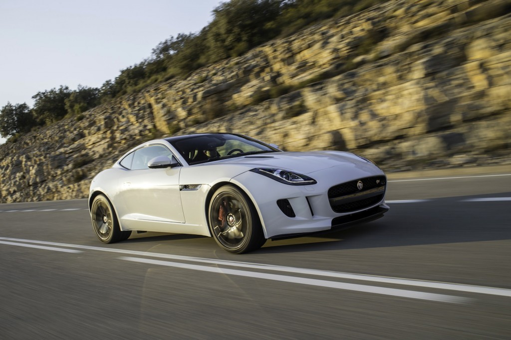 2015 jaguar f type coupe r first drive page 2. Black Bedroom Furniture Sets. Home Design Ideas