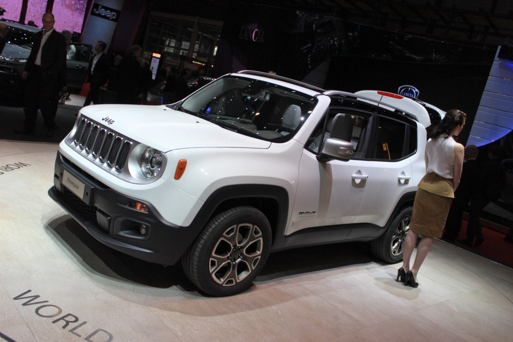 2015 Renegade - Jeep Downsizes For World Domination, Geneva Debut
