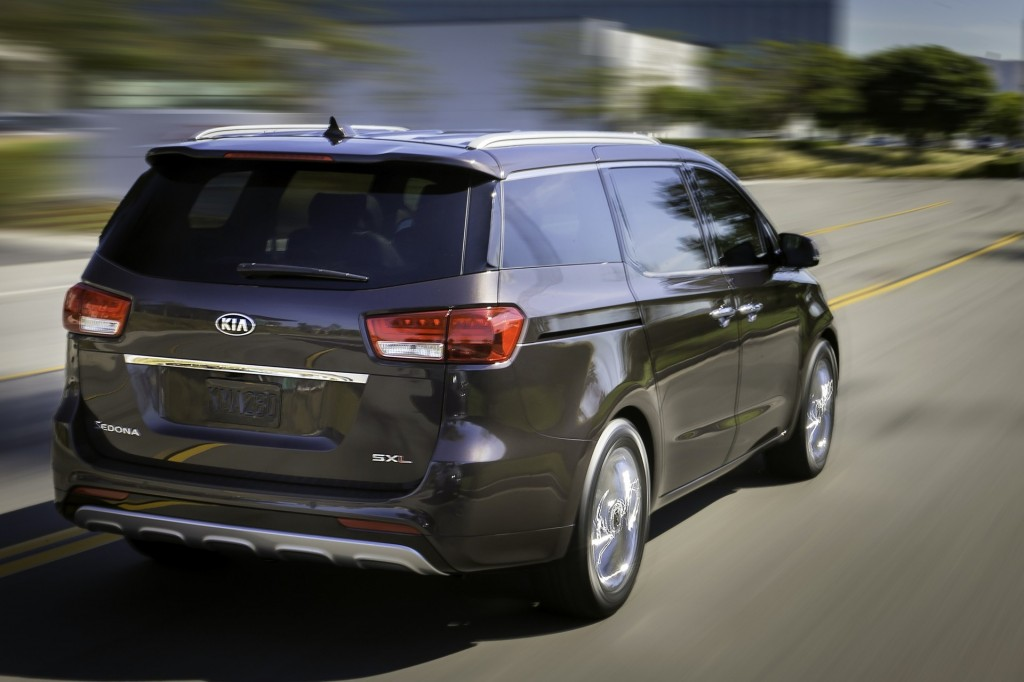 2015 Kia Sedona Pictures Photos Gallery Motorauthority