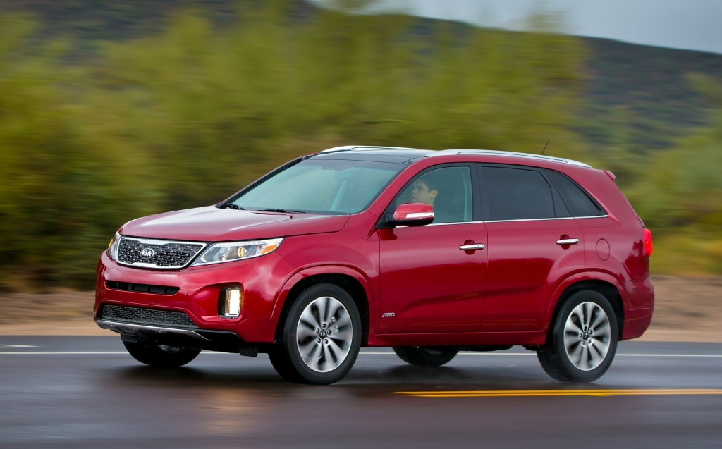 2015 kia sorento pictures photos gallery green car reports. Black Bedroom Furniture Sets. Home Design Ideas