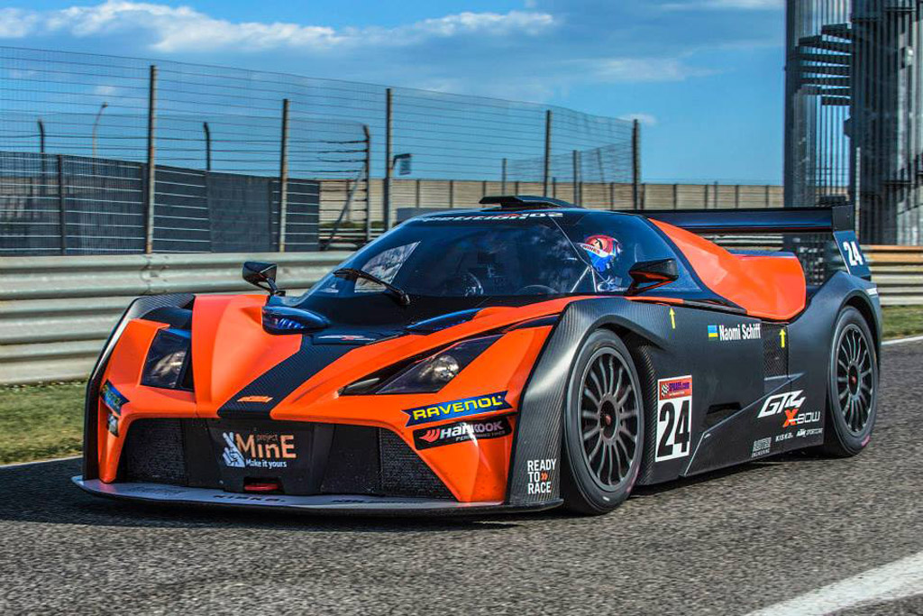 new ktm x bow gt4 completes initial shakedown. Black Bedroom Furniture Sets. Home Design Ideas