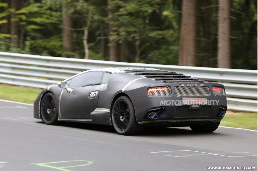 2015 lamborghini hurac n gallardo replacement spy shots