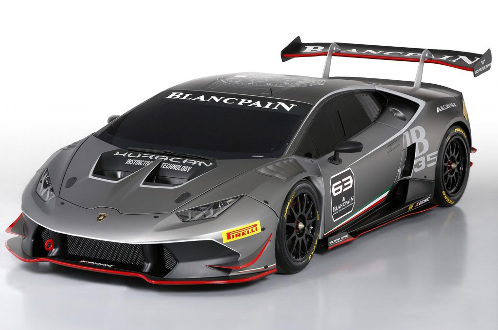 2015 Lamborghini Huracán LP 6202 Super Trofeo race car