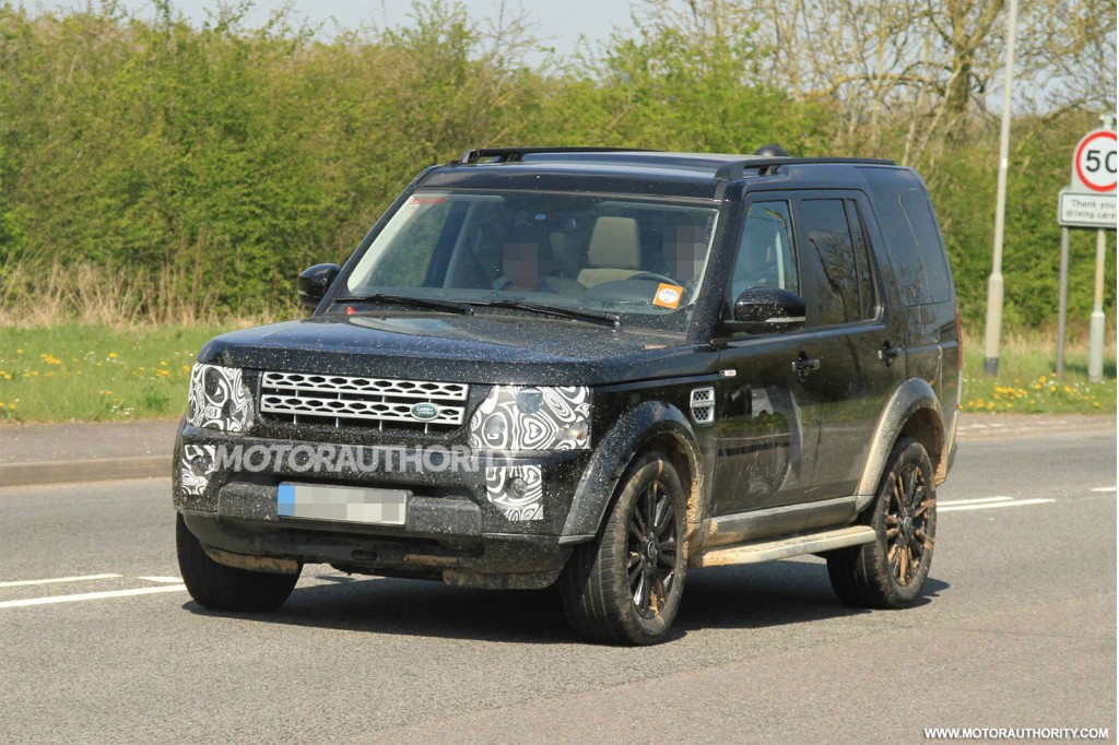 2014 land rover lr4 spy shots. Black Bedroom Furniture Sets. Home Design Ideas