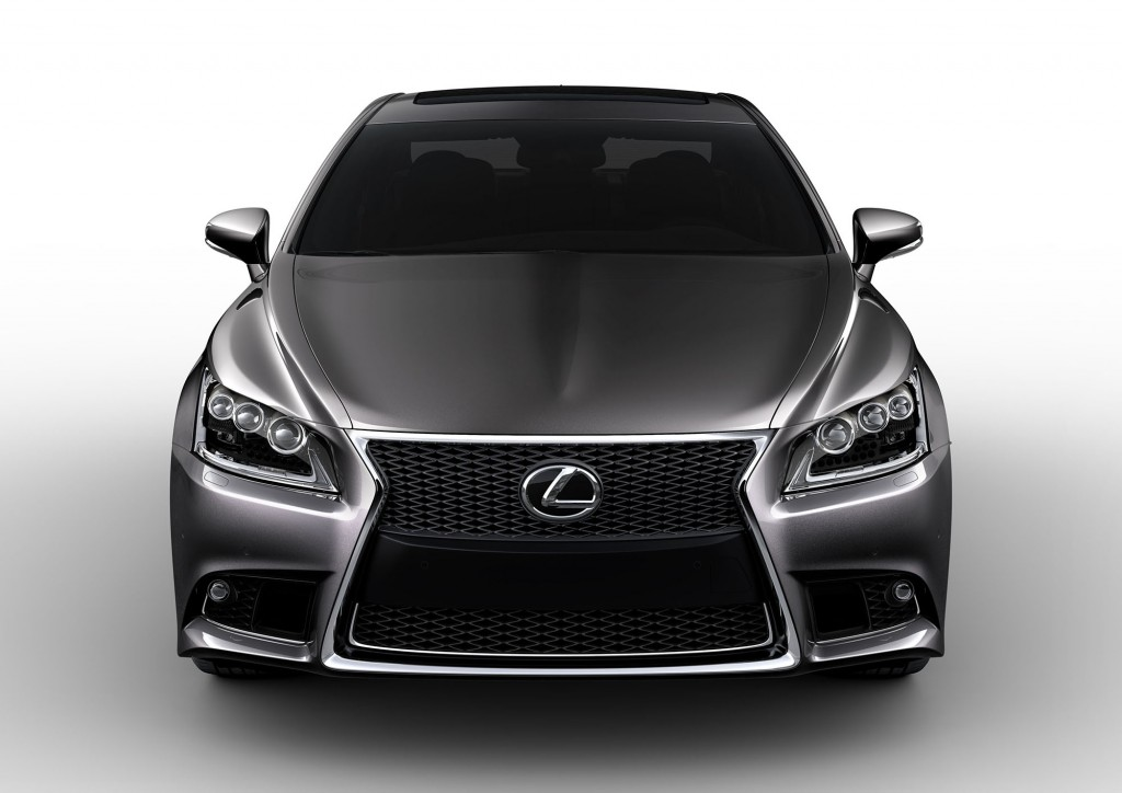 2015 Lexus LS Updates Revealed