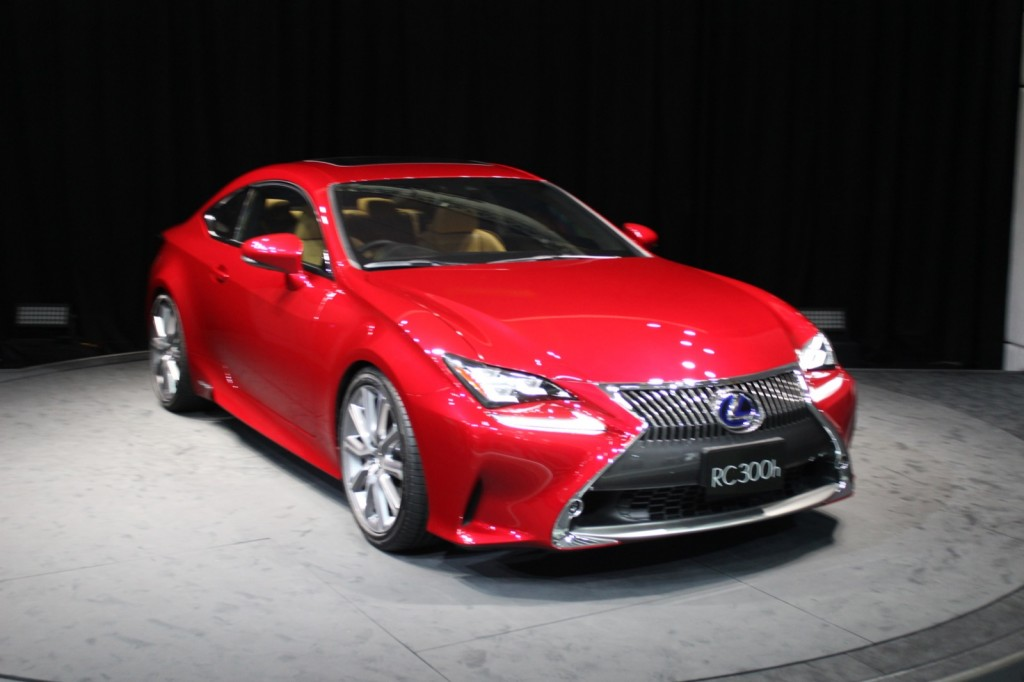 2015 lexus rc 2013 tokyo motor show live photos and video