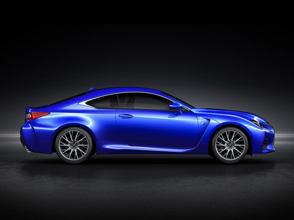 Image 2015 Lexus Rc F Coupe Leaked Images Size 1024 X