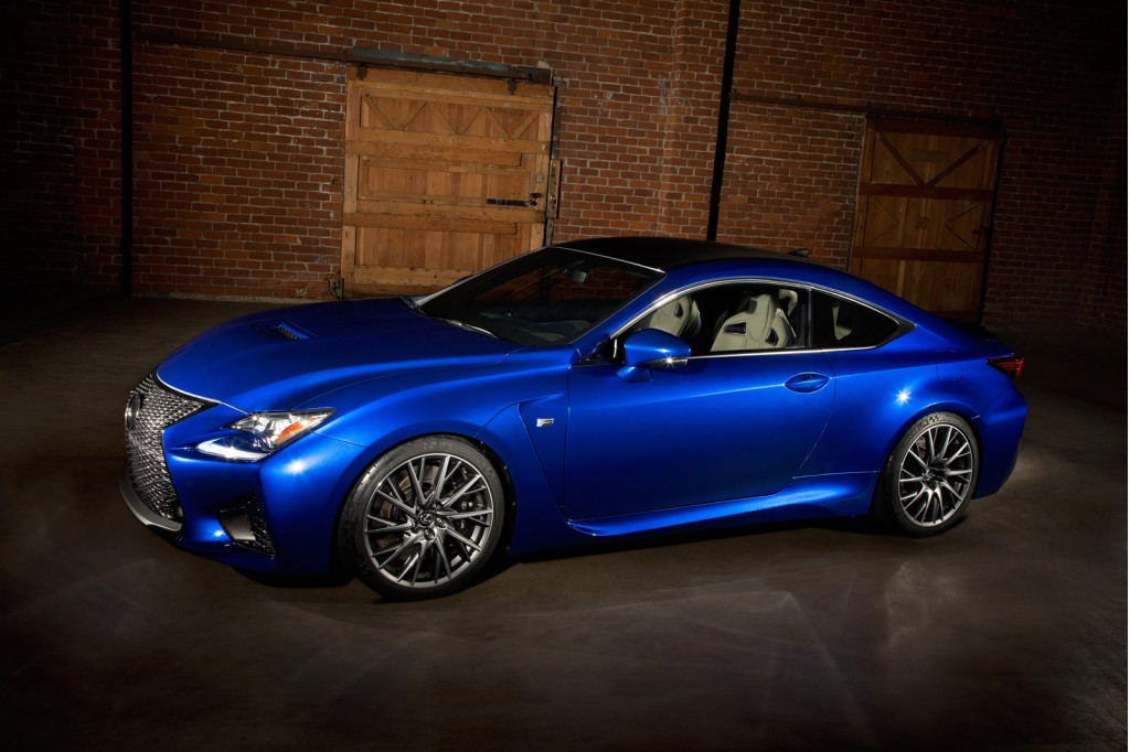 2015 lexus rc f comes with 467 horsepower 63 325 price tag. Black Bedroom Furniture Sets. Home Design Ideas