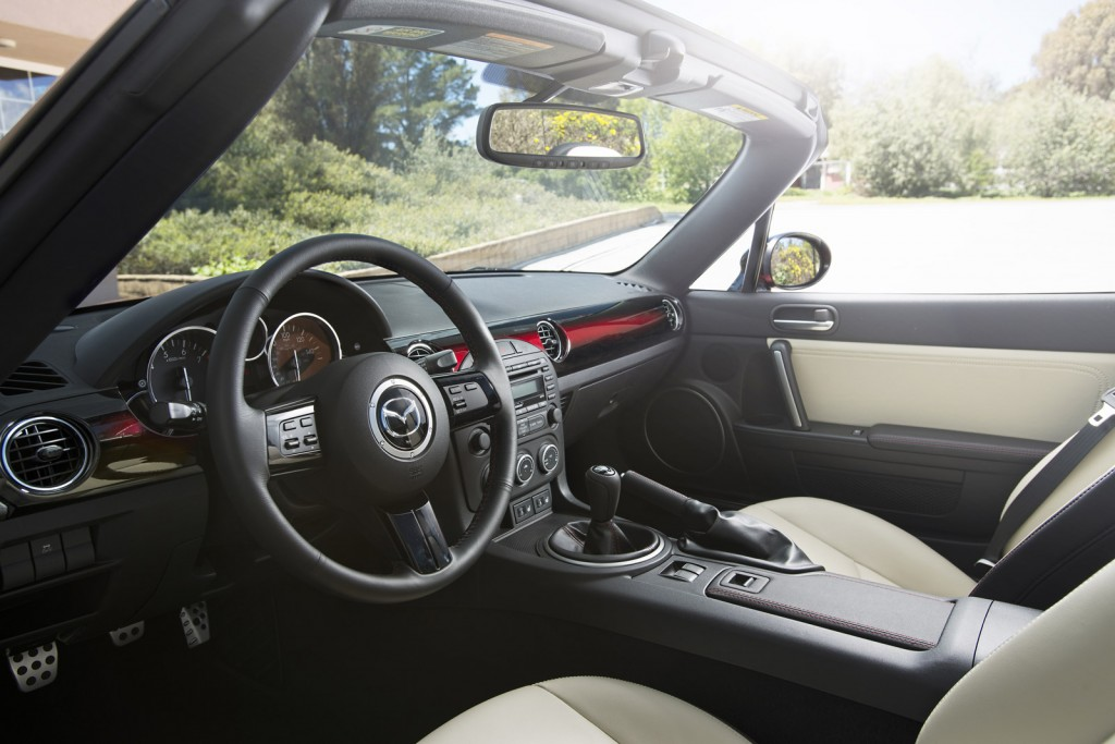 2015 mazda mx 5 miata 25th anniversary edition. Black Bedroom Furniture Sets. Home Design Ideas