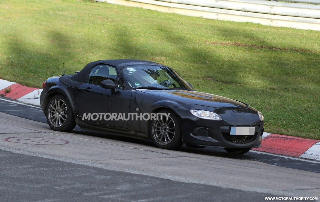 2016 mazda mx 5 miata spy shots. Black Bedroom Furniture Sets. Home Design Ideas