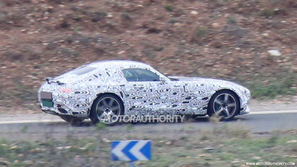Image 2016 Mercedes Amg Gt Spy Shots Size 1024 X 576 Type Gif Posted On November 25 2013