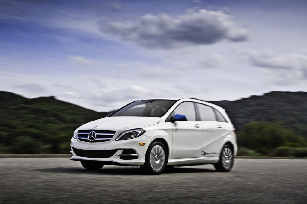 2014 Mercedes B-Class Electric Car On Sale In Summer From