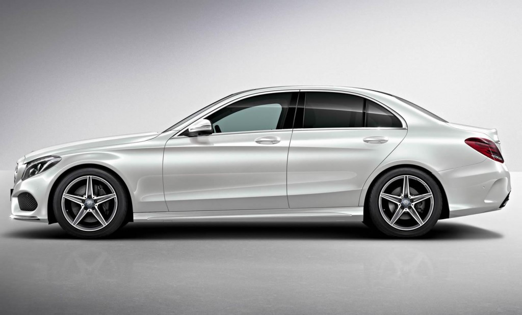 First look at amg styling pack for 2015 mercedes benz c class for Mercedes benz class 2015