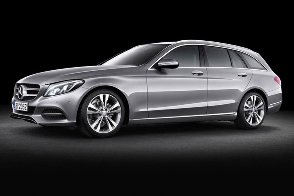 2015 mercedes benz c class wagon revealed for Mercedes benz c class pictures