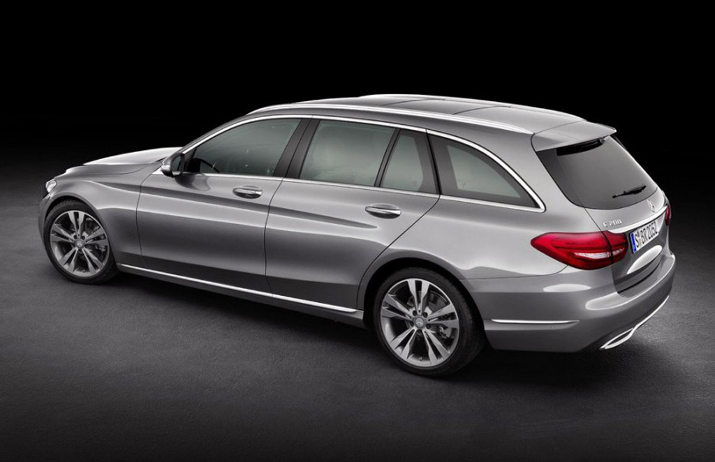 2015 Mercedes-Benz C-Class Wagon Revealed