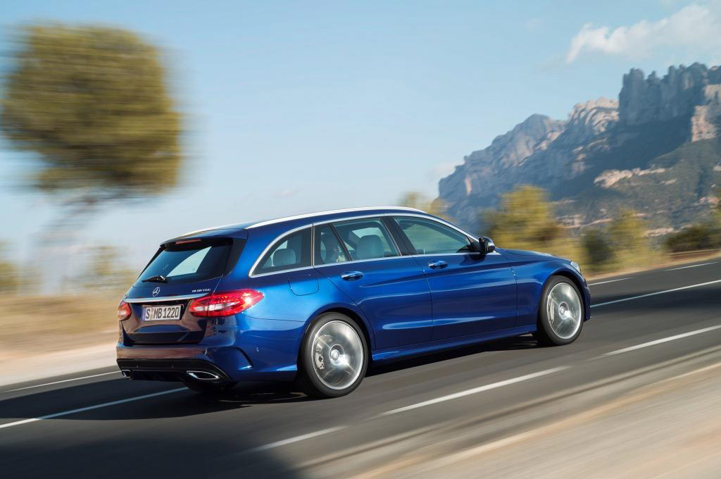 2015 mercedes benz c class wagon revealed for Mercedes benz wagons
