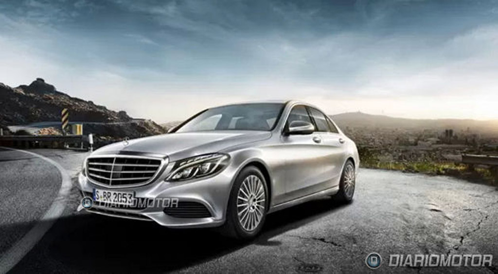 2015 mercedes benz c class leaked. Black Bedroom Furniture Sets. Home Design Ideas