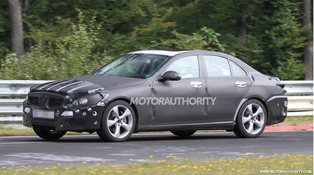 2015 Mercedes-Benz C Class spy shots