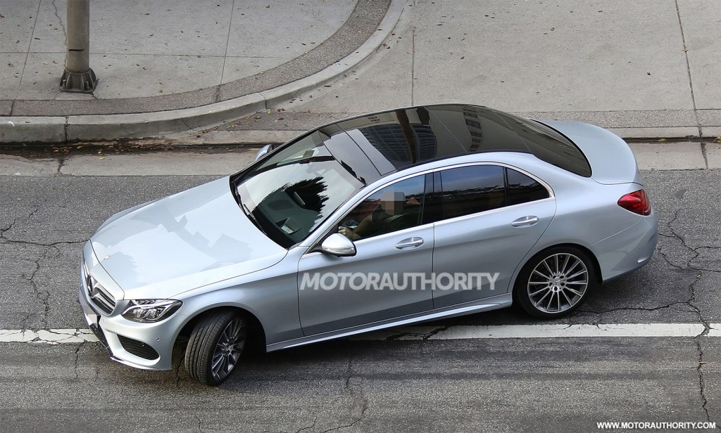 2015 Mercedes Benz C Class Completely Revealed In New Spy