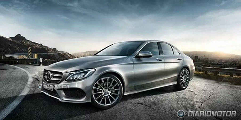 2015 mercedes benz c class leaked for Mercedes benz 2015 c class price