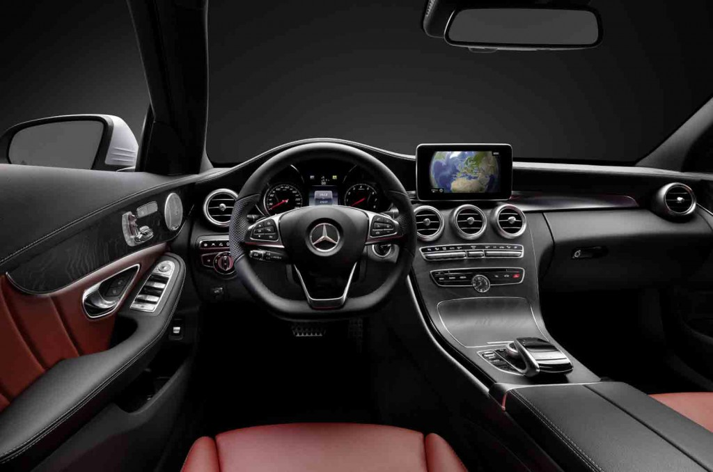 2015 mercedes benz c class teased in new video updated for New mercedes benz s class 2015