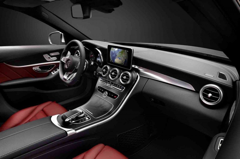 2015 Mercedes Benz C Class Teased In New Video Updated With Interior Photos