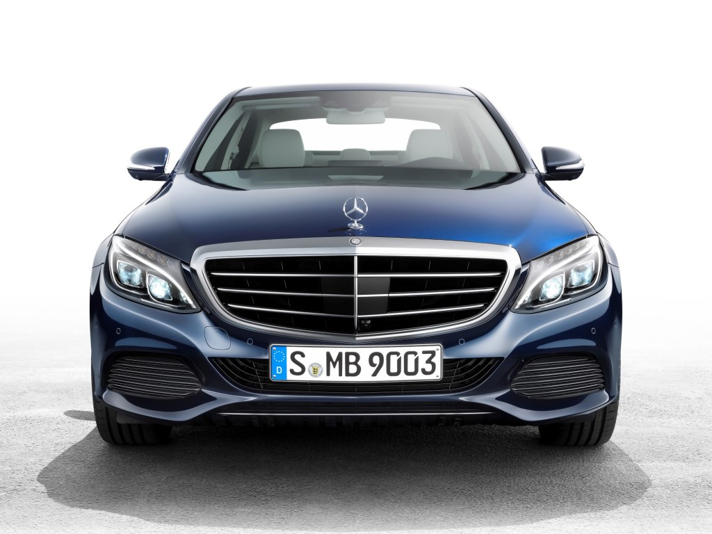 2015 mercedes benz c class enters production for Mercedes benz class 2015