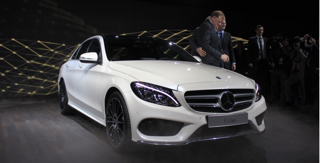 2015 mercedes benz c class live photos 2014 detroit auto show mbworldorg forums
