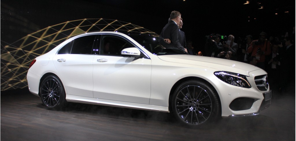 2015 Mercedes-Benz C-Class: 2014 Detroit Auto Show Preview
