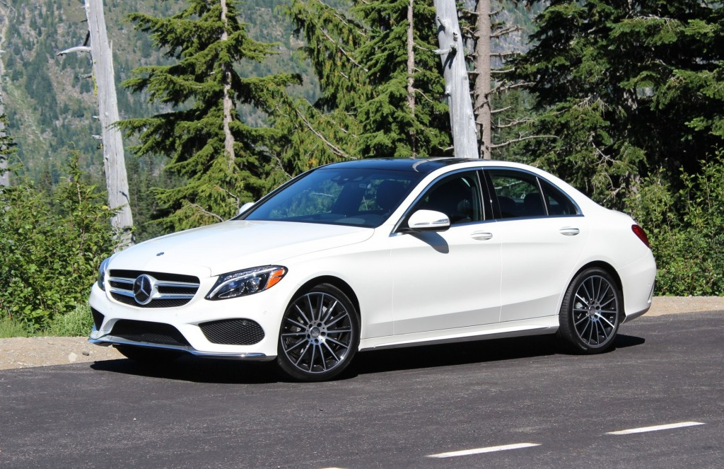 2015 MercedesBenz CClass  First U.S. Drive, August 2014