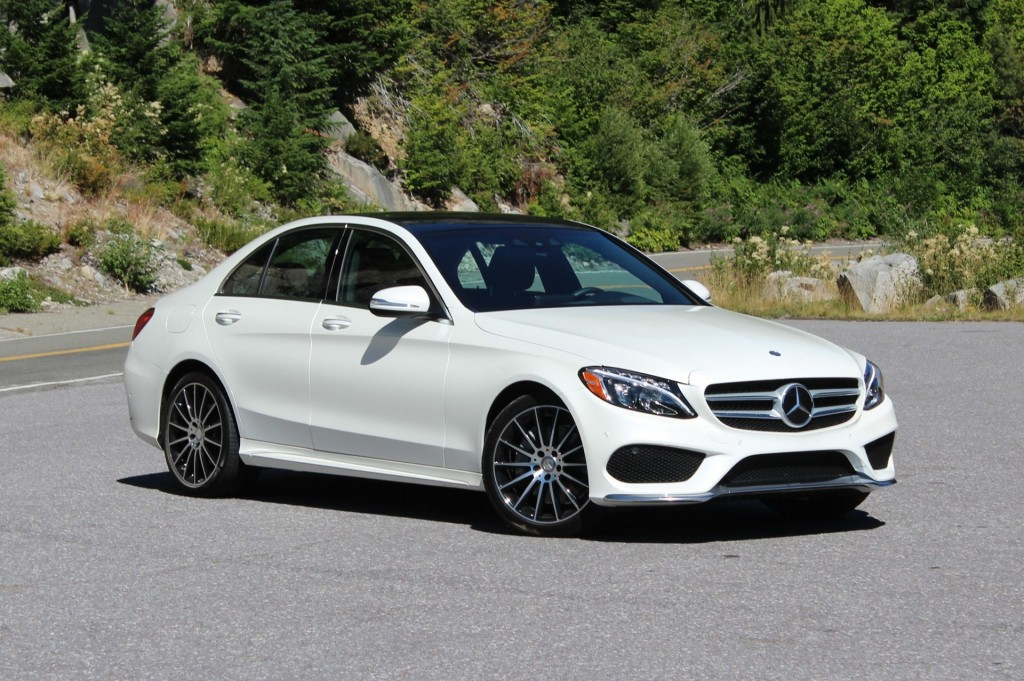 2015 mercedes benz c class video road test. Black Bedroom Furniture Sets. Home Design Ideas