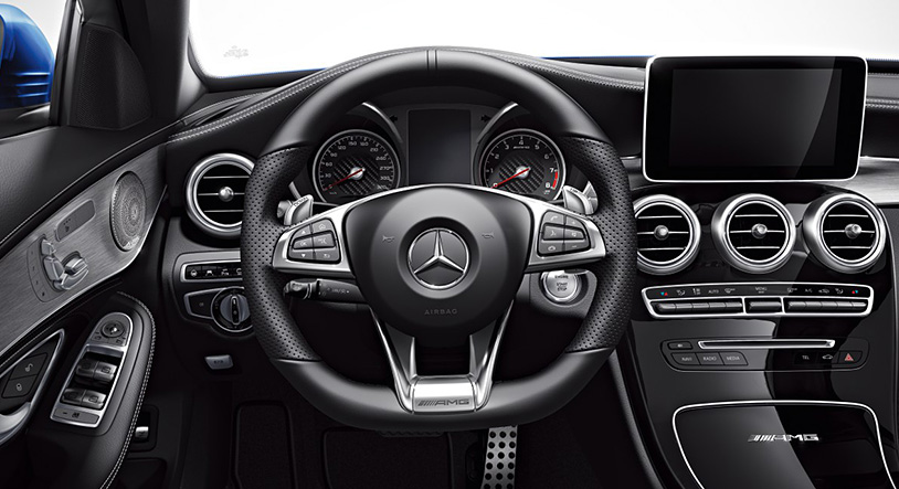 2015 mercedes benz c63 amg details images released in for Artico interieur