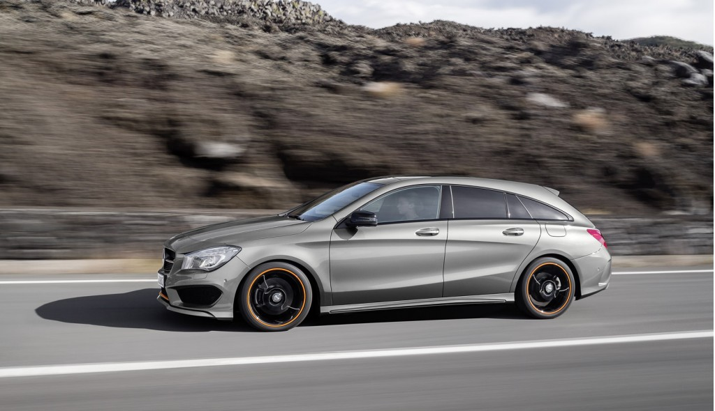 Mercedes benz reveals cla and cla45 amg shooting brake for Mercedes benz 2015 cla